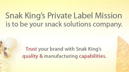 Snak King - Your Partner for Private Label Snacks
